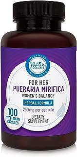 Nature's Instincts Pueraria Mirifica 500 Mg | Herbal Supplement for Women - Vegan, 100 Capsules