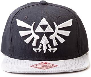 Nintendo Mütze - Zelda schwarz mit Grau-Logo