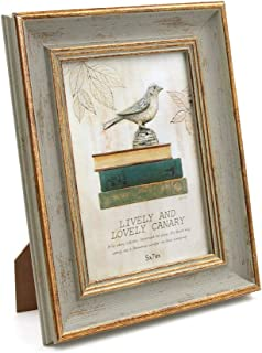 Afuly フォトフレーム オールドウッド 木製 写真立て 縦型 立てかけ レトロ ヴィンテージ おしゃれ シンプル プレミアム プレゼント ギフト 記念品