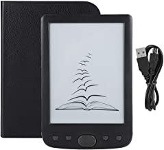 Zopsc 800600 HD 6 Inch E-Ink Easy-to-Read E Book Reader Maximum 32GB TF Card Electronic Book Reader(Black)