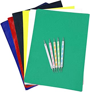 200 Sheets Carbon Paper for Tracing,Transfer Carbon Paper Graphite Copy Paper with 5 Pieces Embossing Styluses Stylus Dott...