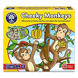 A fun and strategic game for all the family Develops counting and gameplay skills 3D tree adds exciting dimension Suitable for 2-4 players Suitable for ages 4-8