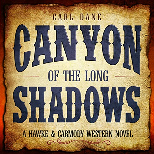 Canyon of the Long Shadows audiobook cover art
