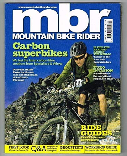 Mountain Bike Rider Magazine March 2006 MBox2985/B Carbon superbikes - Ride Guides