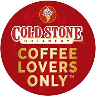Cold Stone Creamery Single Serve Coffee in Recyclable Cups for all K Cup Brewers, including the Keurig 2.0 Brewer (Coffee Lovers, 24)