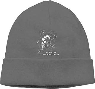 Belindaa Kojima Productions Beanie Men Women - Unisex Cuffed Plain Skull Knit Hat Cap