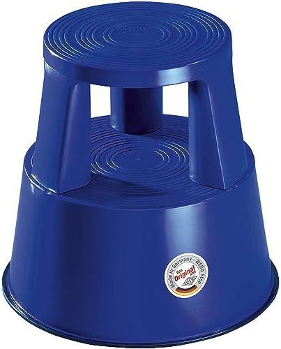 Wedo Step 212203 Tabouret marchepied mobile en plastique Bleu