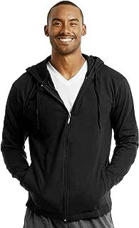 Men's Cotton Lightweight Zip Up Hoodie Jacket