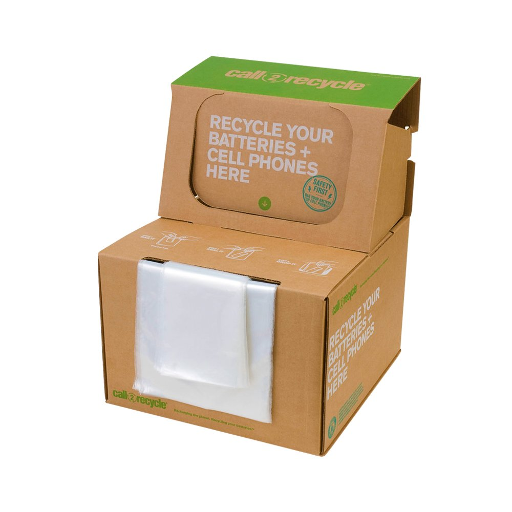 Large Battery /& Cellphone Recycling Box