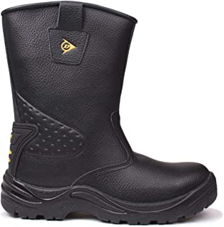 dunlop safety rigger boots