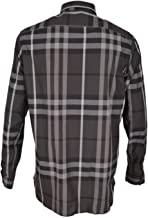 BURBERRY London Treyforth Beat Mens Plaid Check Sport Shirt Size 18