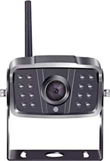 $69 » Wireless Backup Camera 1080P for 7 inch Monitor with Record Function Waterproof IP69K-K18