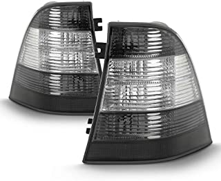 ACANII - For 1998-2005 Mercedes-Benz W163 ML320 ML350 ML430 Smoked/Clear Tail Lights Brake Lamps Driver & Passsenger