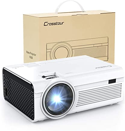 Projector, Mini LED Video Projector 1080P Supported, Crosstour HD Portable Projector with HDMI...