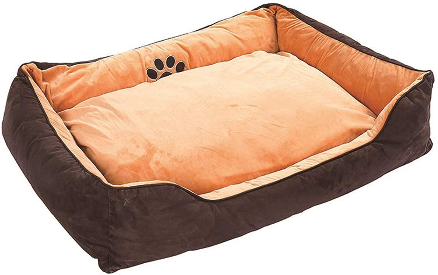 Desti Flakes Dog Bed cat mat Kennel Fully Removable and Washable DoubleSided WearResistant Thickening Pet Supplies Four Seasons Universal Washable (Size   55CM)