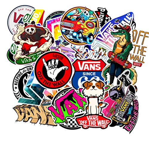 100 Stks Cartoon Leuke Doodle Band Sticker Merk Skateboard Koffer Laptop Gitaar Auto Pvc Waterdicht Behang