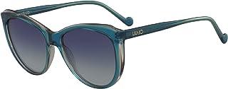 ليو جو نظارة شمسية للنساء، عدسات زرقاء - LJ694S