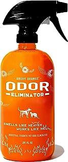 ANGRY ORANGE Pet Odor Eliminator for Home - Citrus Deodorizer for Urine Stains & Strong Smells on Carpet, Furniture, or Fl...