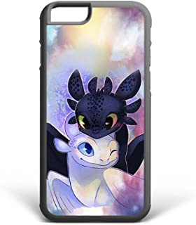 Koldan How to Train Your Dragon The Hidden World Case iPhone 6 6S Plus iPhone 5 5S SE 8 Plus 7 Plus X XR XS Max Toothless and The Light Fury Samsung Note 8 Note 9 S6 S7 Edge S8 Plus S9 Plus 2DaO34