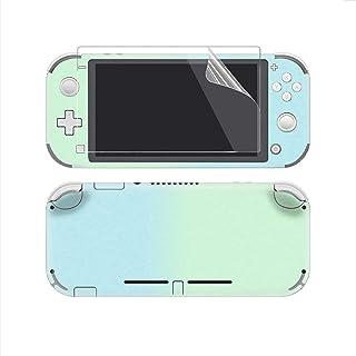 eXtremeRate Juego completo de pegatinas para Nintendo Switch Lite/NSL Consola con 2 protectores de pantalla