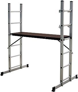 comprar comparacion Charles Bentley Andamio de Escalera de Aluminio con Plataforma de Trabajo