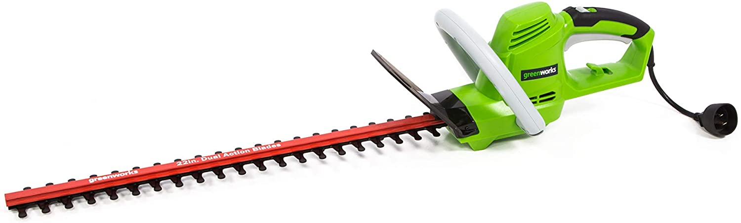 Greenworks 4 Amp 22-inch HT04B00 Fort Worth Mall Trimmer Hedge Animer and price revision Corded