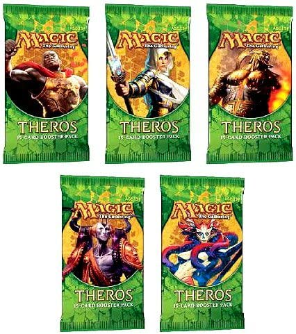 Theros 5 2021 spring and summer new Five Packs of Magic Pack the Max 71% OFF - MTG Booster Gathering