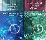 Concepts of Physics Vol I & II with Solutions of both the Volumes