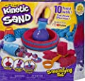 Kinetic Sand, Sandisfying Set with 2lbs of Sand and 10 Tools, for Kids Aged 3 and up from Spin Master