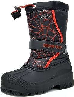 Boys & Girls Toddler/Little Kid/Big Kid Mid Calf Waterproof Winter Snow Boots