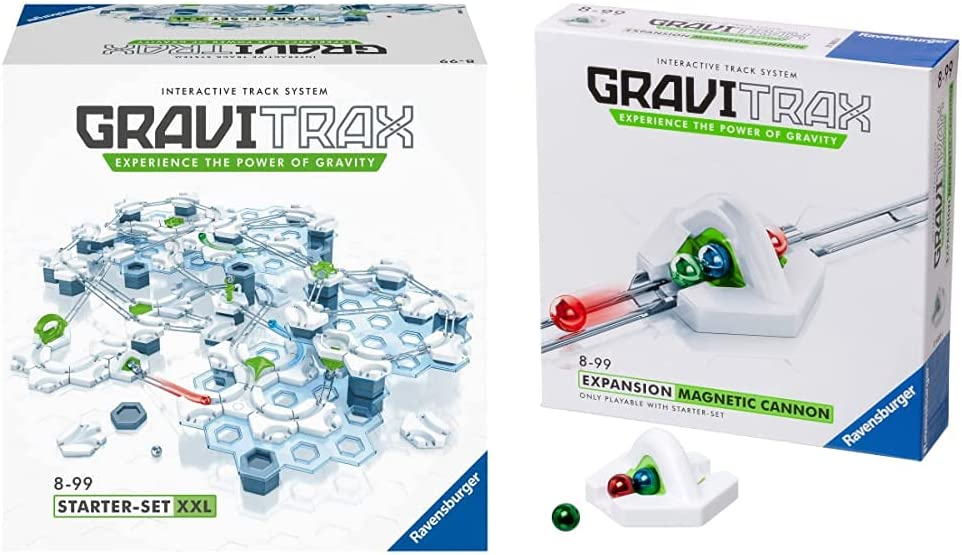 Ravensburger GraviTrax XXL Starter Set In High quality a popularity Marble Construction T Run