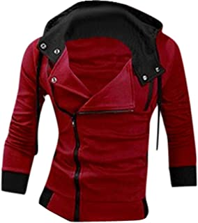 comprar comparacion Jeansian Hombres Sudaderas con Capucha Outwear Tapas Men's Casual Hooded Sweatshirts Outwear Tops 8945