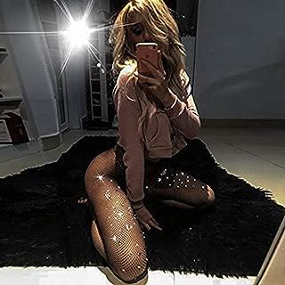 YAMADIE 3PCS Fashion Women's Sexy Lace Flower Tights Underwear Sexy Porn Small Mesh Belt Color Diamond Net Pants