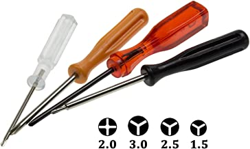 HIGHFINE Triwing 1.5 2.5 3.0 and Phillips PH00 Screwdriver Set Repair for Nintendo..