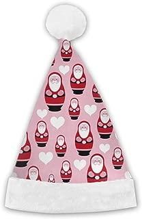 JQTGPNZLZHFA Pink and Red Santa Claus Christmas Hats Adults, Men, Women, Kids, Old Decorations, Christmas Headdress Hats