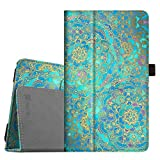 Fintie Folio Case for Samsung Galaxy Tab E 8.0 - Premium PU Leather Slim Fit Smart Stand Cover for Galaxy Tab E 32GB SM-T378/Tab E 8.0-Inch SM-T375/SM-T377 Tablet, Shades of Blue