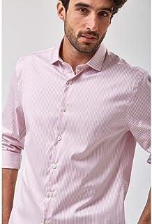 Camisa Listra Fio 80 - Rosa