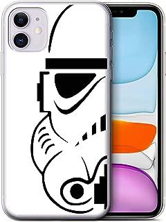 eSwish Gel TPU Phone Case/Cover for Apple iPhone 11 / Stormtrooper Design/Assault Trooper Helmet Collection