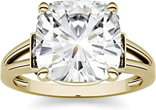 2.10 ct Solitaire Diamant Véritable 14k or blanc bague de fiançailles Promesse pour son