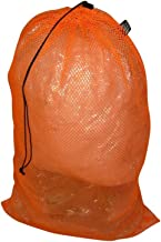 product image for BAGS USA Laundry Bag,Equipment Ball Bag with Cord Lock,Heavy Duty Mesh Made in U.s.a.