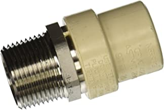 King Brothers Inc. TMS-1000 Male X Socket PXL CPVC X Stainless Steel Transition Adaptor, Tan, 1-Inch