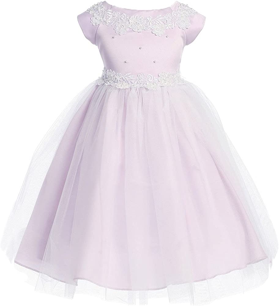 Kid Collection Girl's Mesa Cheap bargain Mall D1102 Dress Occasion Special
