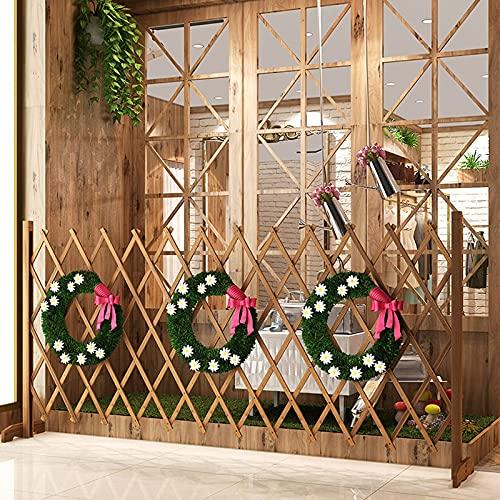 Madera Gran jardín enrejado enrejado plantas de montaña Soporte de plantas en trellis marco de jardín enrejado enrejado en trellis de madera enrejado cerca pantalla de creaciones de jardín con móvil p