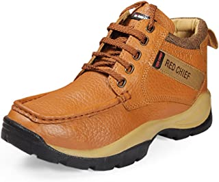 Red Chief Men's Elephant Tan Leather Casual Shoes (RC2051) UK 8
