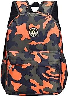 Adanina Camouflage Kids School Backpack Primary Schoolbag Bookbag for Girls Boys