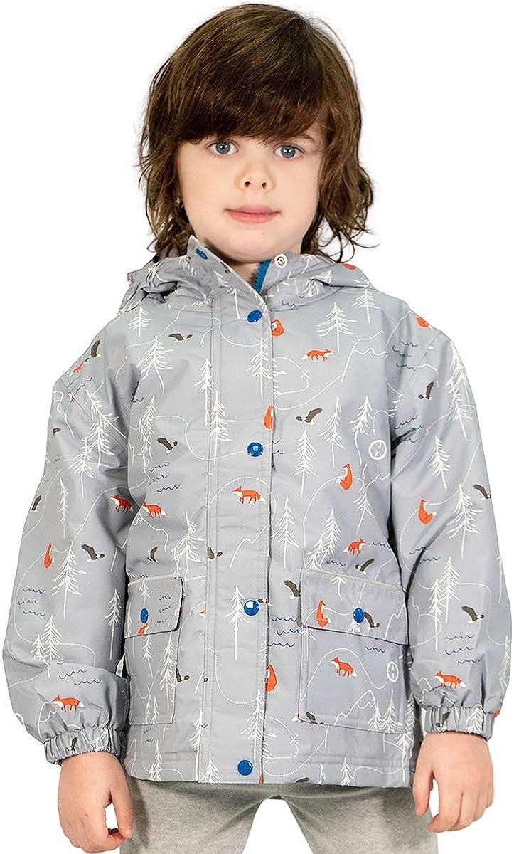 Regular dealer Jan Jul Baby Toddler Kids Fleece-Line Arlington Mall Jacket Waterproof Rain