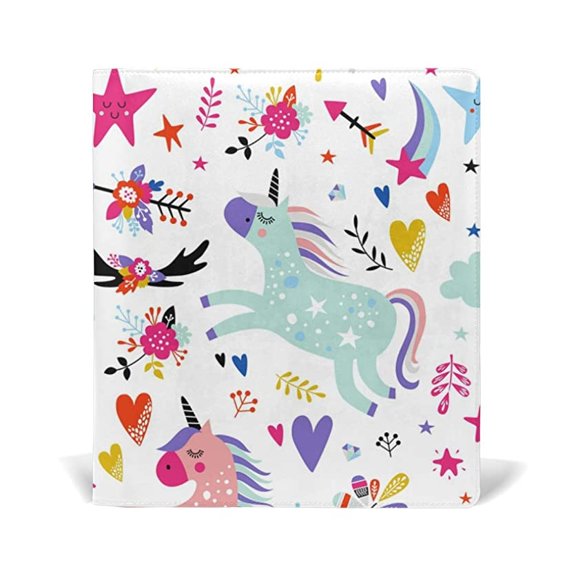 Jumbo Size Book Covers for Notebook Textbook Unicorn White Boy Girl School Supplies Office