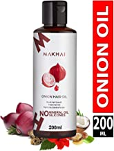 Makhai Premium Onion Hair Oil for Hair Growth with 21 Vital Oils and Natural Ingredients 200ml
