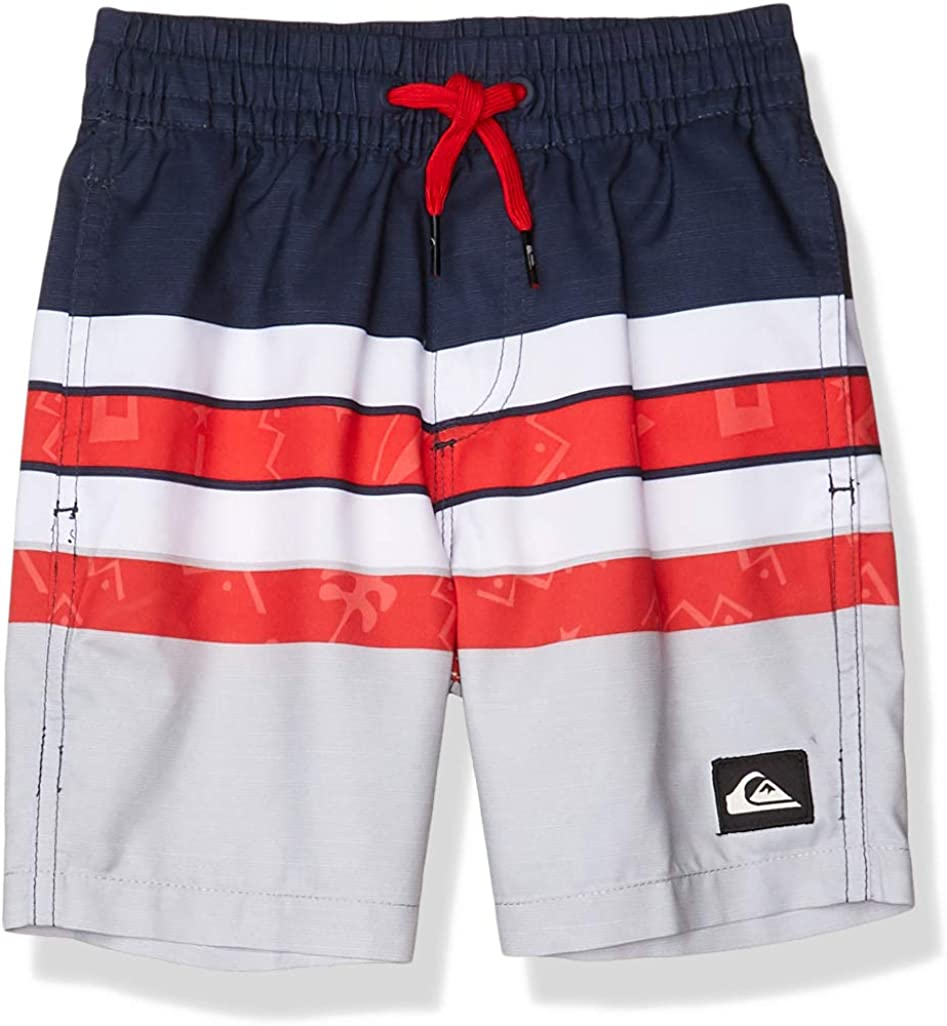 Quiksilver Boys Big Destination Volley Youth 15 Boardshort Swim Trunk