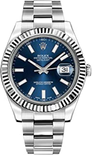 Rolex Oyster Perpetual DateJust II 116334-BLUSFO Blue Dial